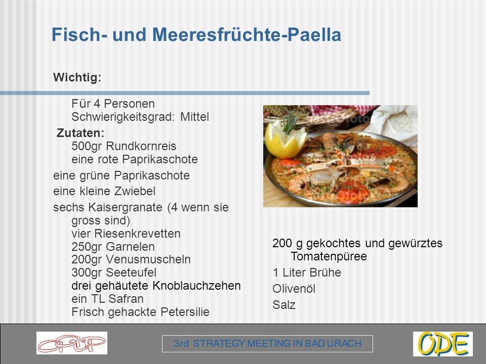Fisch- und Meeresfrüchte-Paella