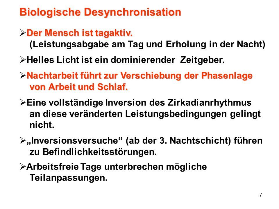Biologische Desynchronisation