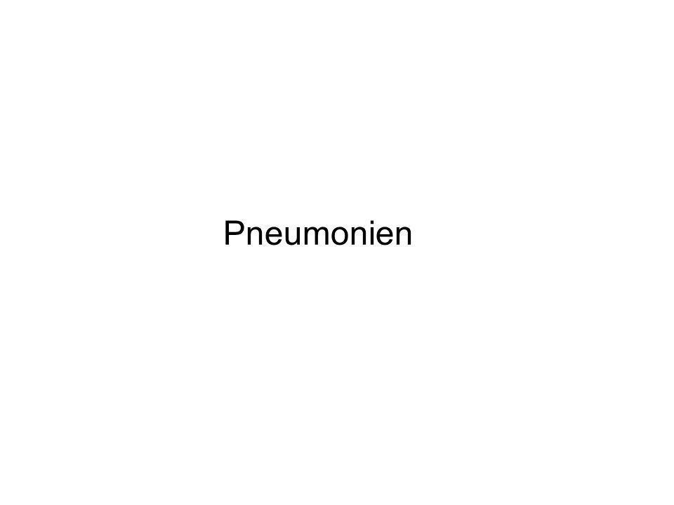Pneumonien