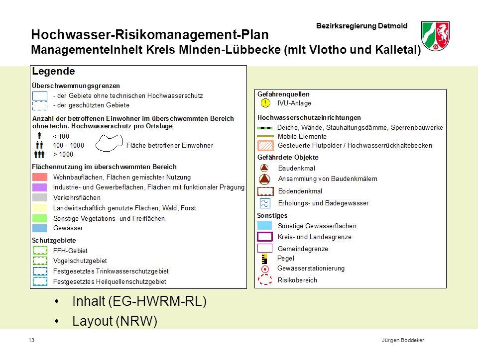 Inhalt (EG-HWRM-RL) Layout (NRW) Jürgen Böddeker