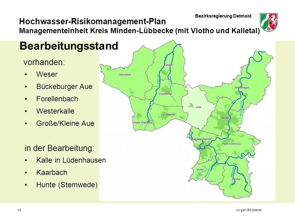 Bearbeitungsstand vorhanden: in der Bearbeitung: Weser Bückeburger Aue