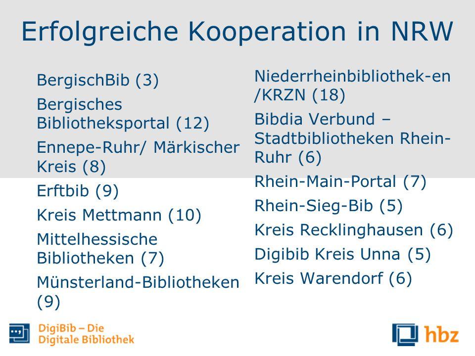 Erfolgreiche Kooperation in NRW