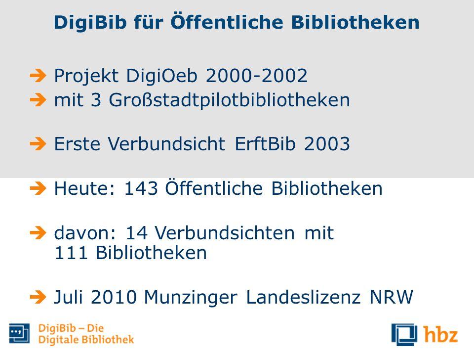 DigiBib für Öffentliche Bibliotheken