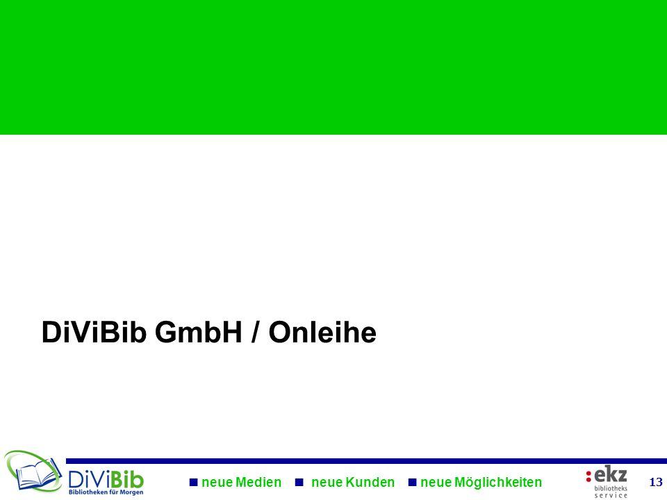 DiViBib GmbH / Onleihe
