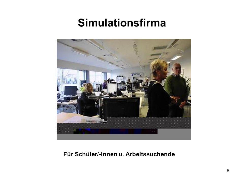 Simulationsfirma Für Schüler/-innen u. Arbeitssuchende