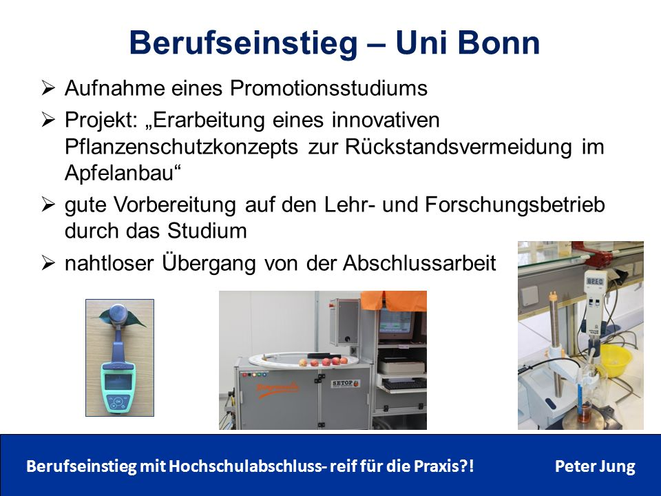 Berufseinstieg – Uni Bonn