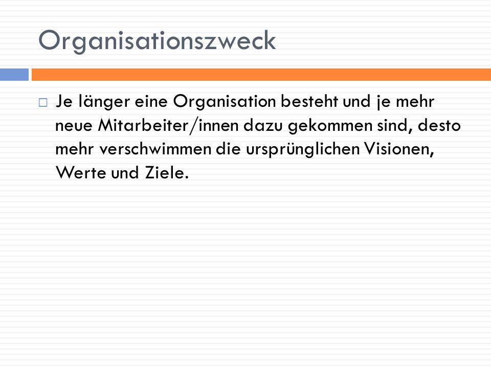Organisationszweck