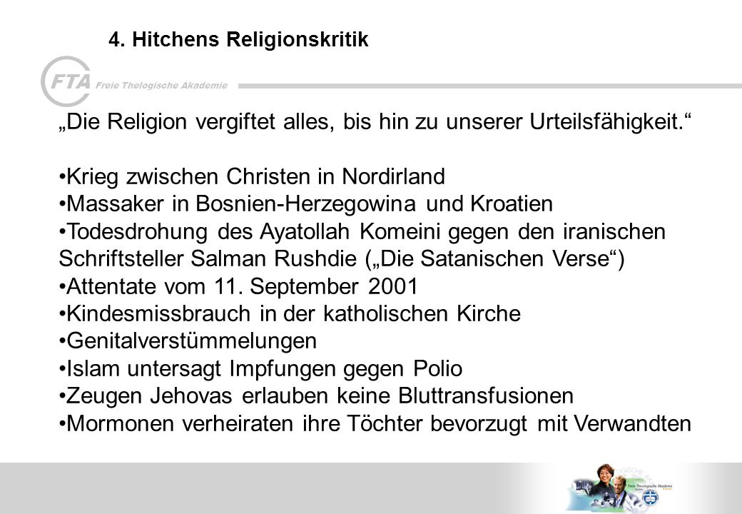 4. Hitchens Religionskritik