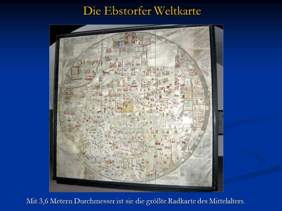Die Ebstorfer Weltkarte