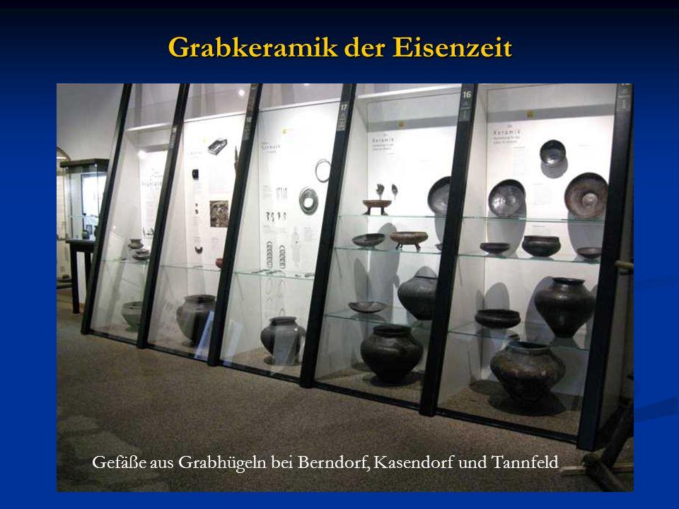 Grabkeramik der Eisenzeit