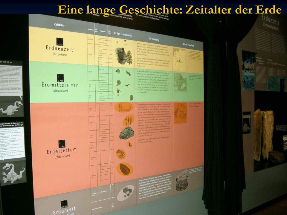 Eine lange Geschichte: Zeitalter der Erde