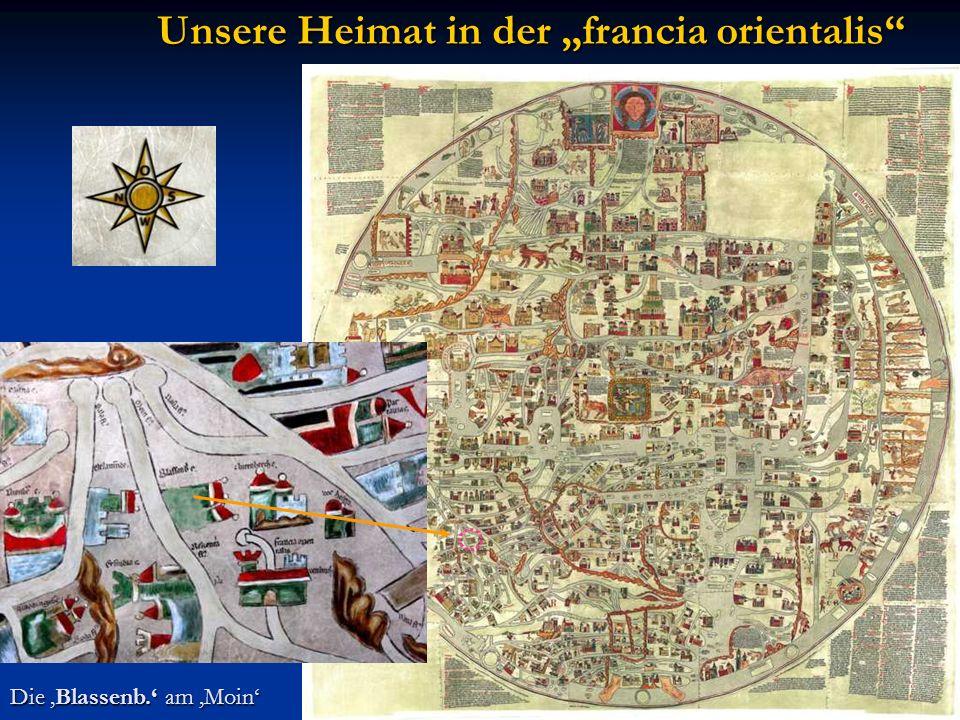 """Unsere Heimat in der """"francia orientalis"""