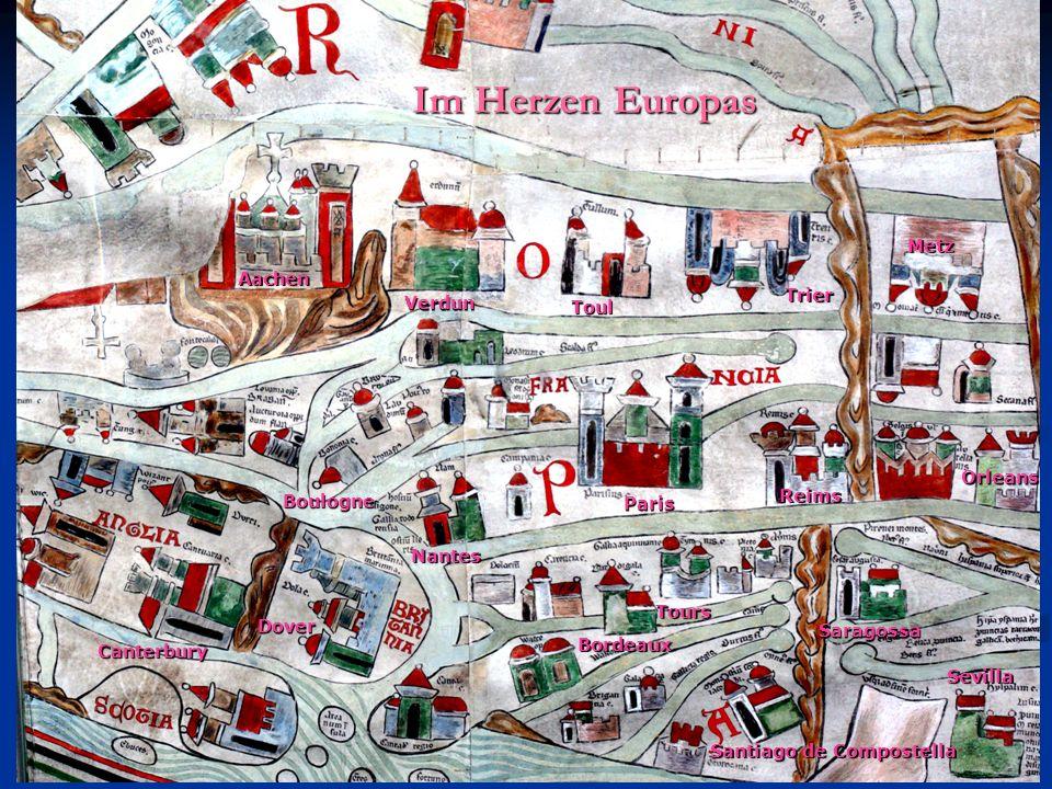 Im Herzen Europas Metz Aachen Trier Verdun Toul Orleans Reims Boulogne