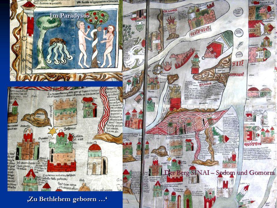 Im Paradysus Der Berg SINAI – Sodom und Gomorra 'Zu Bethlehem geboren …'