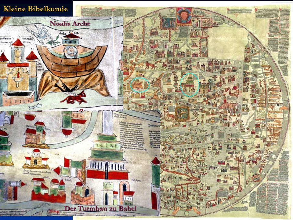 Kleine Bibelkunde Noahs Arche Der Turmbau zu Babel