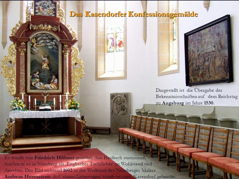 Das Kasendorfer Konfessionsgemälde