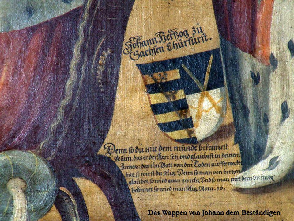 Das Wappen von Johann dem Beständigen