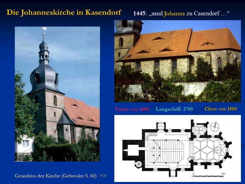 Die Johanneskirche in Kasendorf