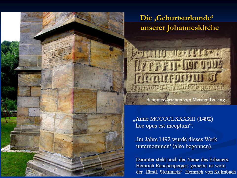 unserer Johanneskirche