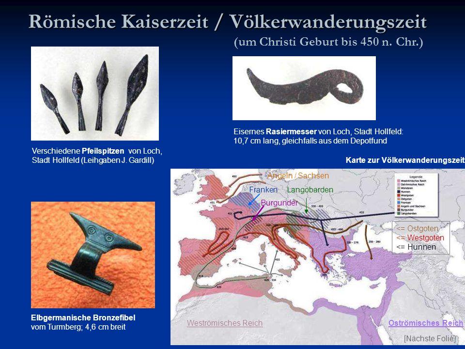 Römische Kaiserzeit / Völkerwanderungszeit