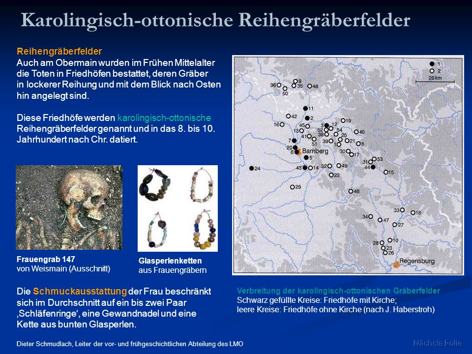 Karolingisch-ottonische Reihengräberfelder