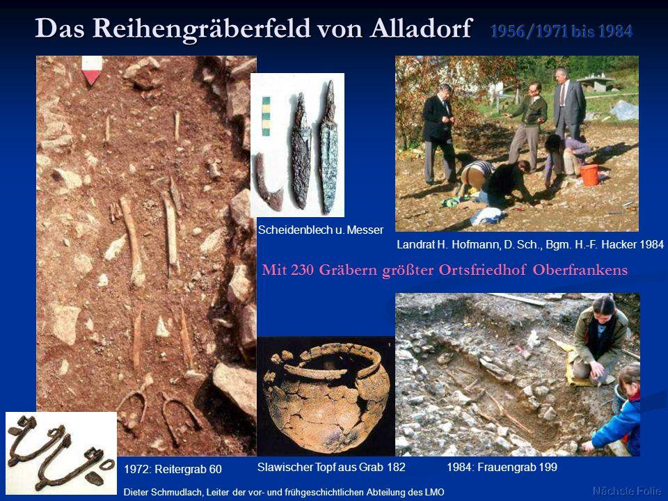 Das Reihengräberfeld von Alladorf