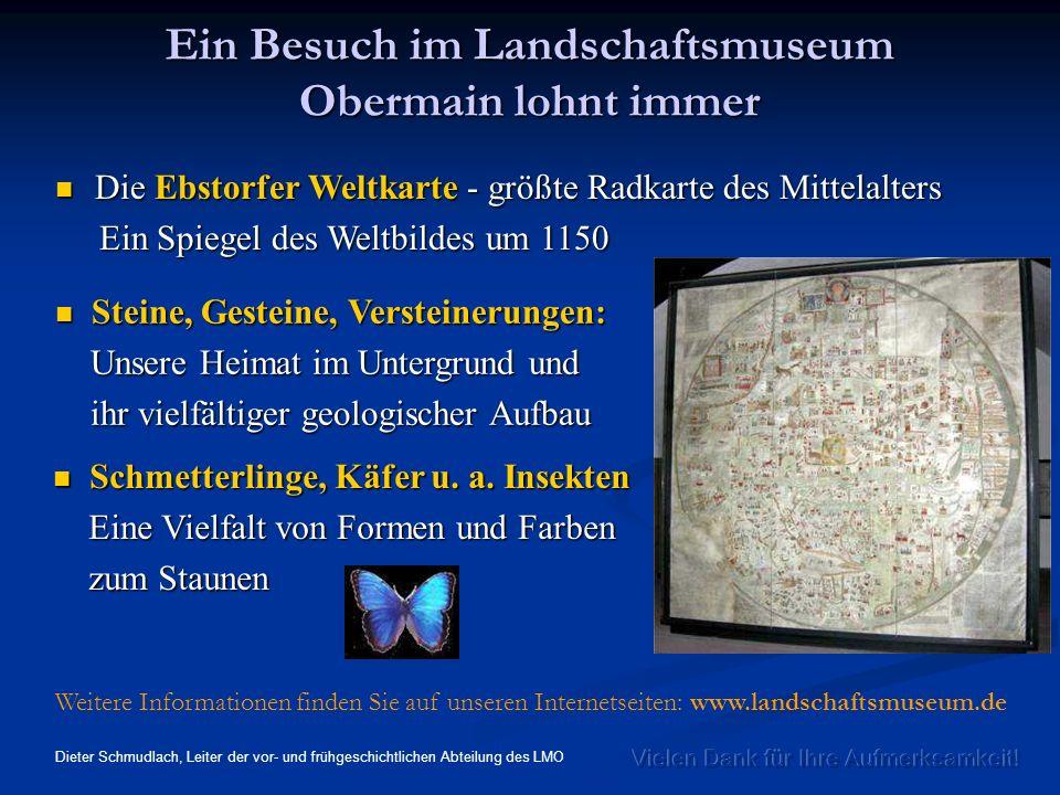 Ein Besuch im Landschaftsmuseum Obermain lohnt immer