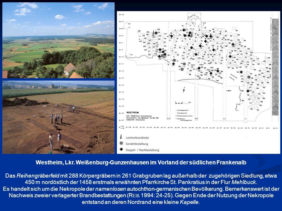 Westheim, Lkr. Weißenburg-Gunzenhausen im Vorland der südlichen Frankenalb