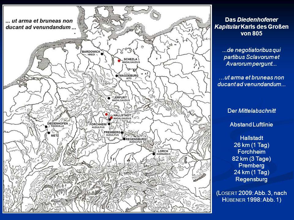 Das Diedenhofener Kapitular Karls des Großen von 805