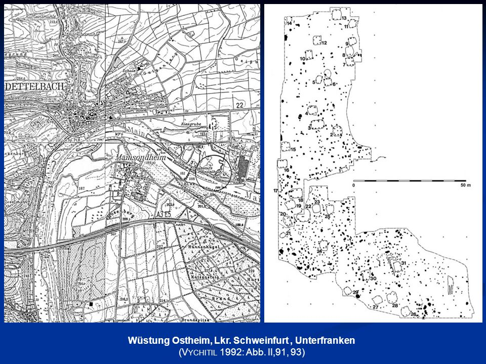 Wüstung Ostheim, Lkr. Schweinfurt , Unterfranken