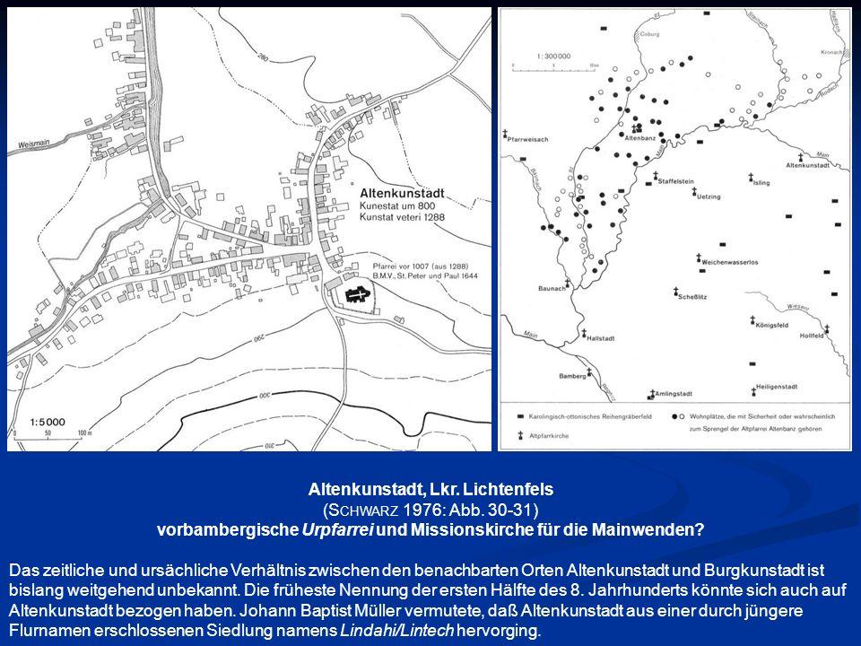 Altenkunstadt, Lkr. Lichtenfels (Schwarz 1976: Abb. 30-31)