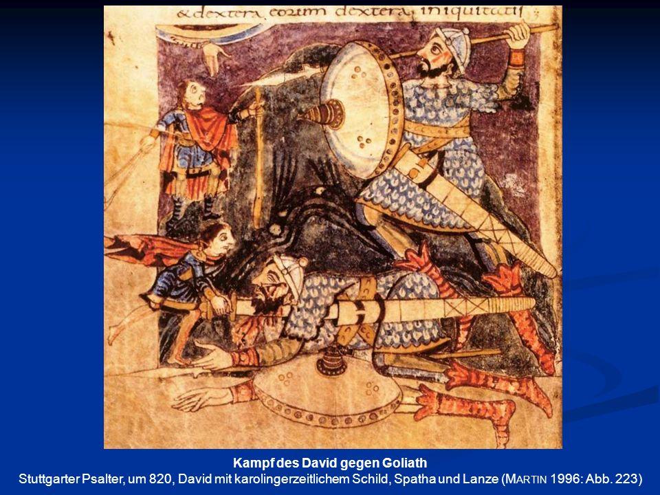 Kampf des David gegen Goliath