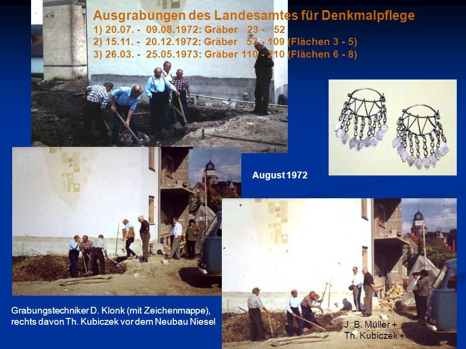 Ausgrabungen des Landesamtes für Denkmalpflege