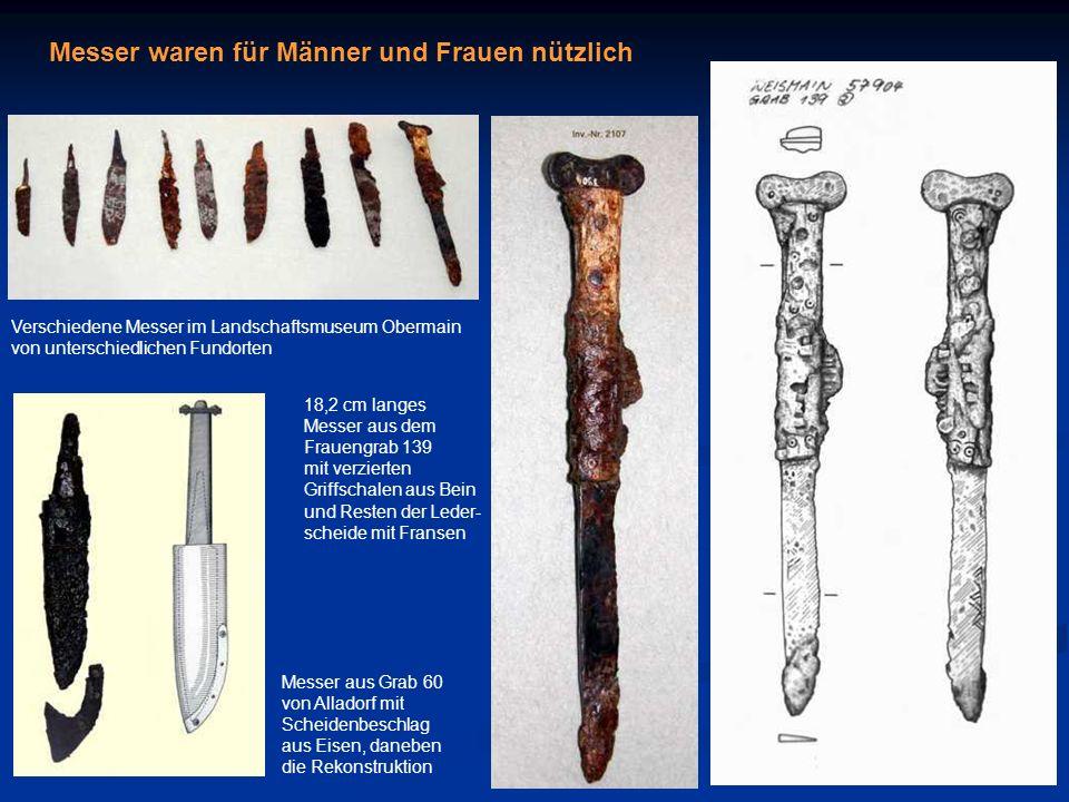Messer waren für Männer und Frauen nützlich