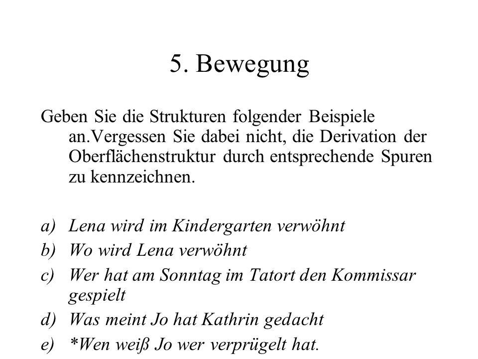 5. Bewegung