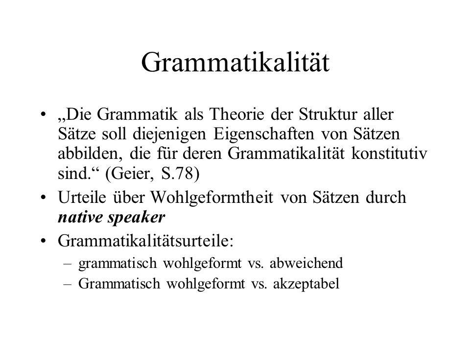Grammatikalität