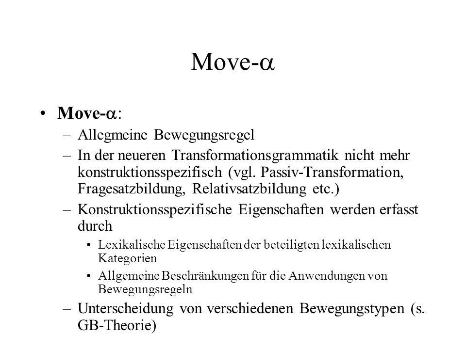 Move- Move-: Allegmeine Bewegungsregel