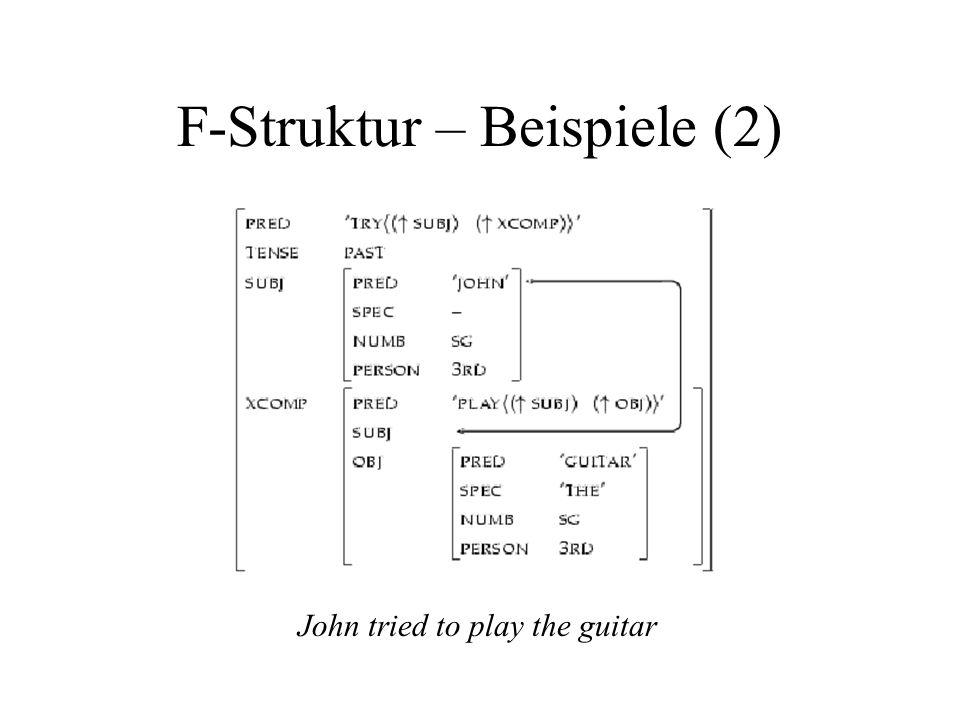 F-Struktur – Beispiele (2)