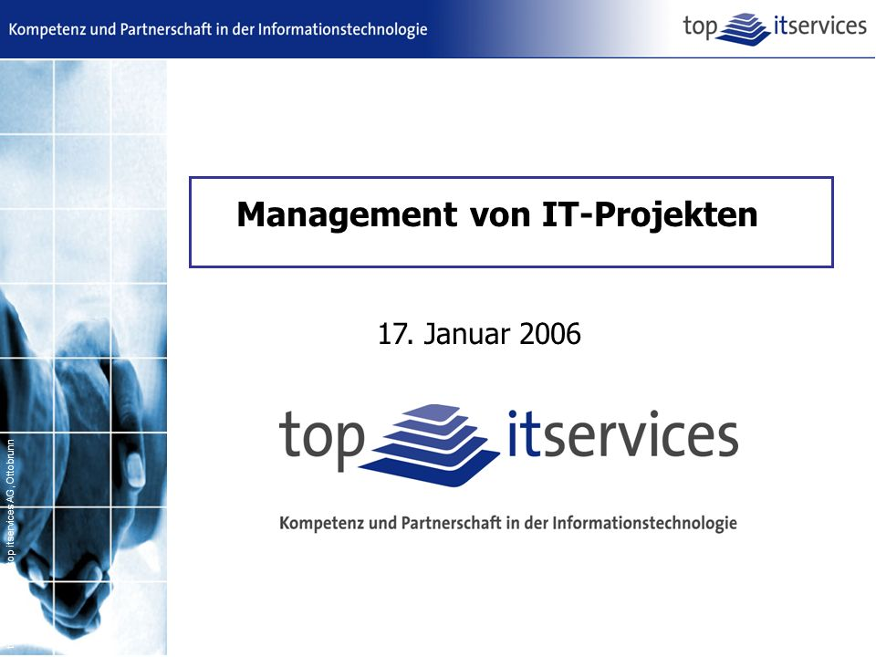 Management von IT-Projekten
