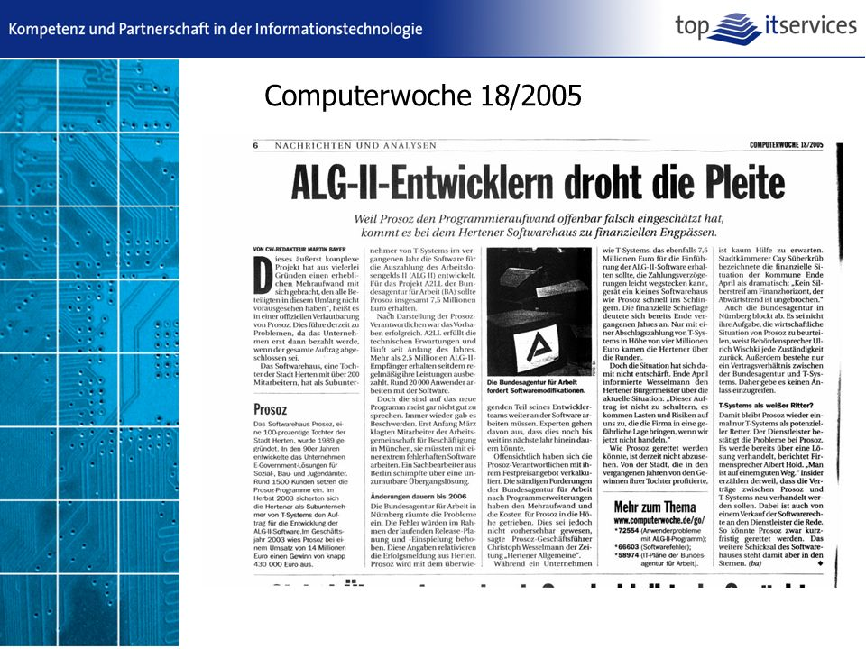 Computerwoche 18/2005