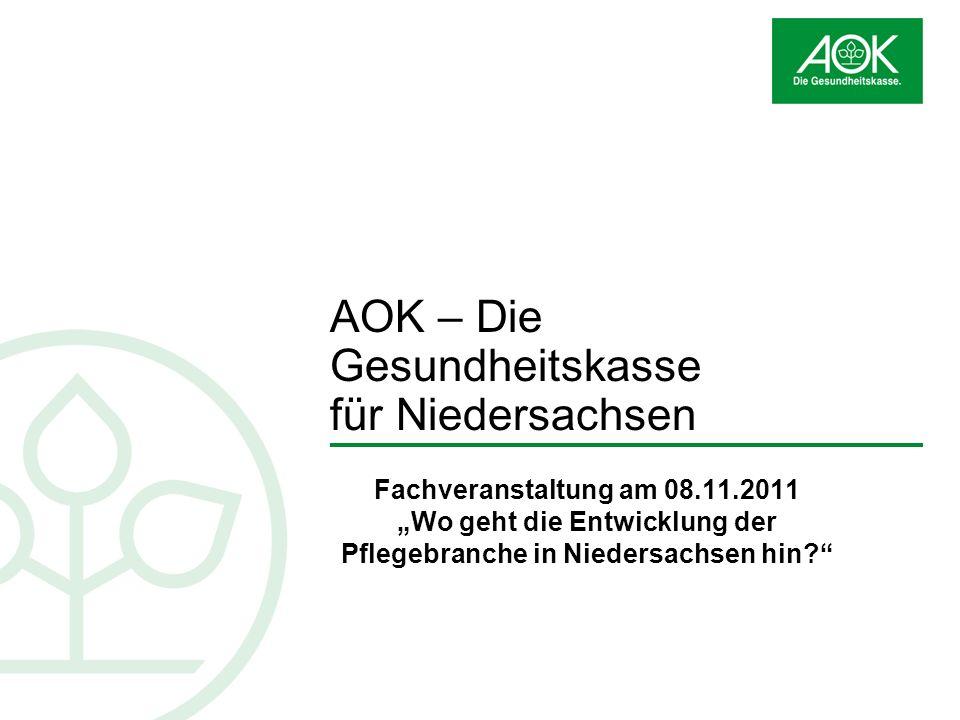 AOK – Die Gesundheitskasse für Niedersachsen
