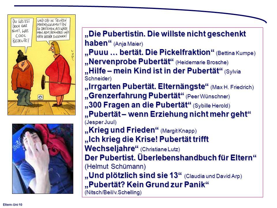 """""""Die Pubertistin. Die willste nicht geschenkt haben (Anja Maier)"""