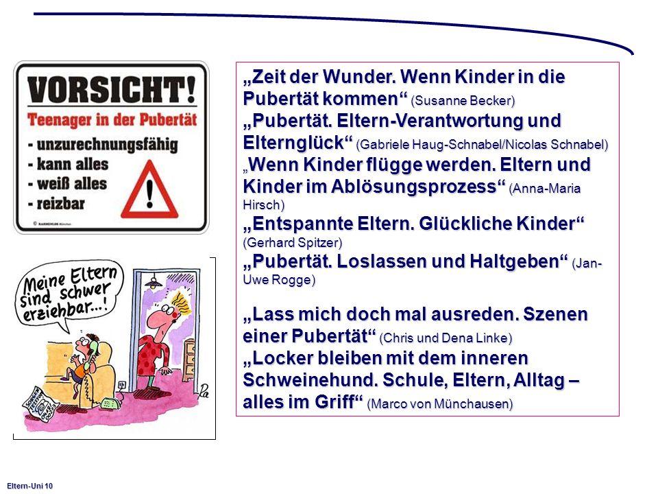 """""""Zeit der Wunder. Wenn Kinder in die Pubertät kommen (Susanne Becker)"""