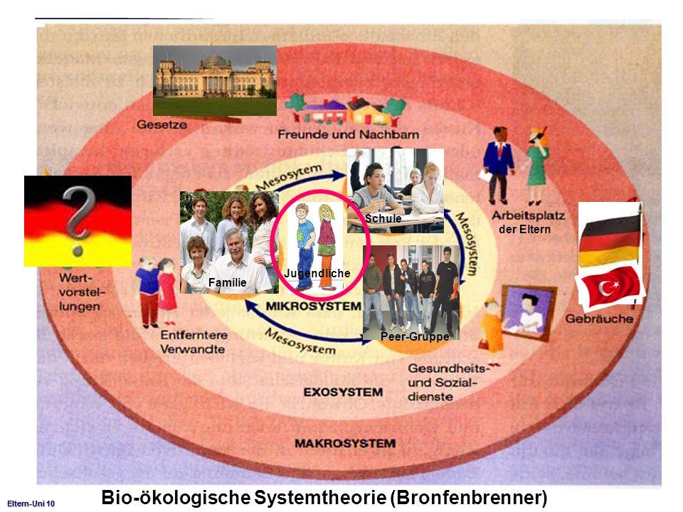 Bio-ökologische Systemtheorie (Bronfenbrenner)