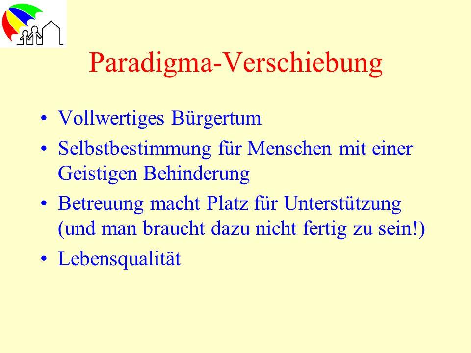 Paradigma-Verschiebung