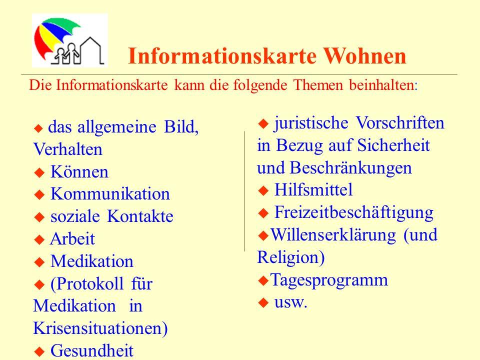 Informationskarte Wohnen