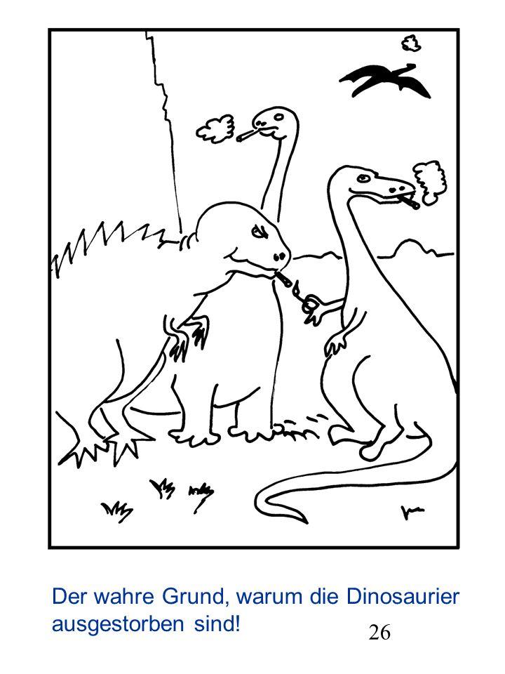 Der wahre Grund, warum die Dinosaurier ausgestorben sind!