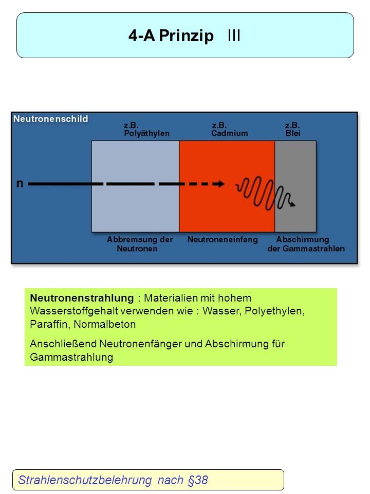 4-A Prinzip III Strahlenschutzbelehrung nach §38