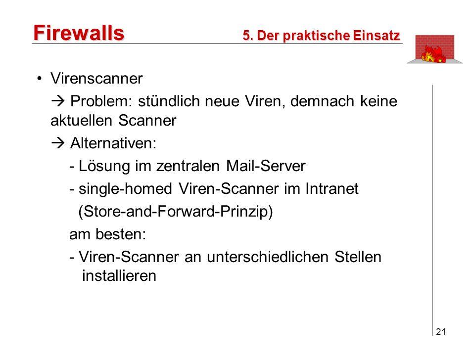 Firewalls Virenscanner