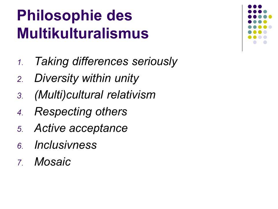 Philosophie des Multikulturalismus